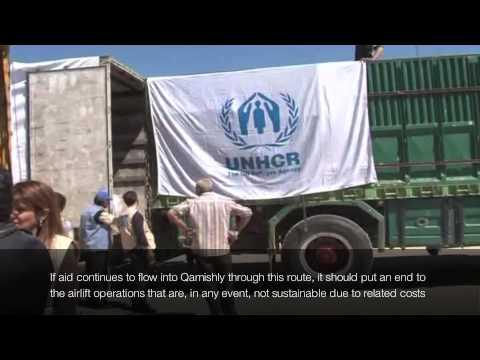 Syria: UNHCR's Cross Border operation March 2014