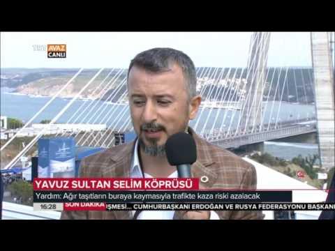 Yavuz Sultan Selim Köprüsü Nasıl Dizayn Edildi? - TRT Avaz