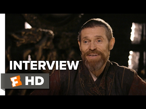 The Great Wall Interview - Willem Dafoe (2017) - Action Movie