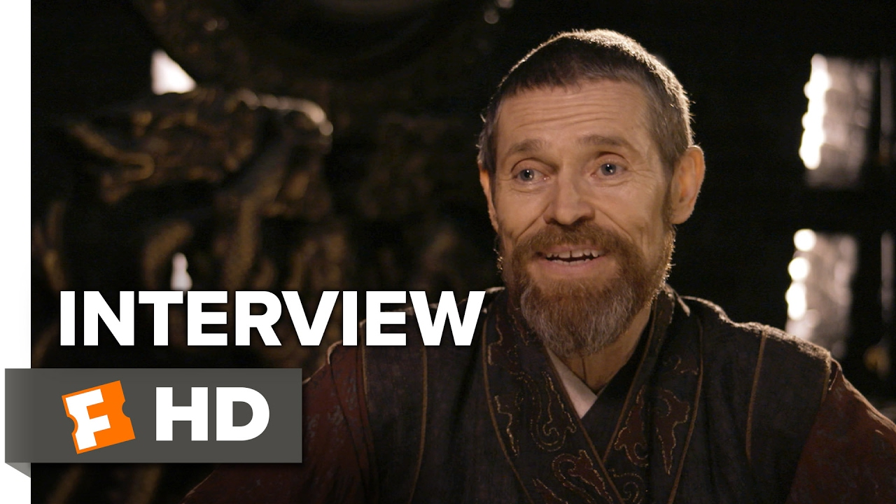 The Great Wall Interview - Willem Dafoe (2017) - Action ...