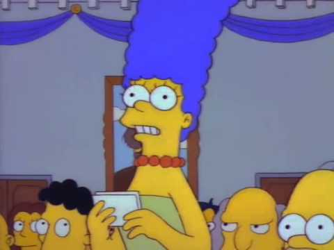 The Simpsons- Town Meeting- How to spend the 3 million Dollars?