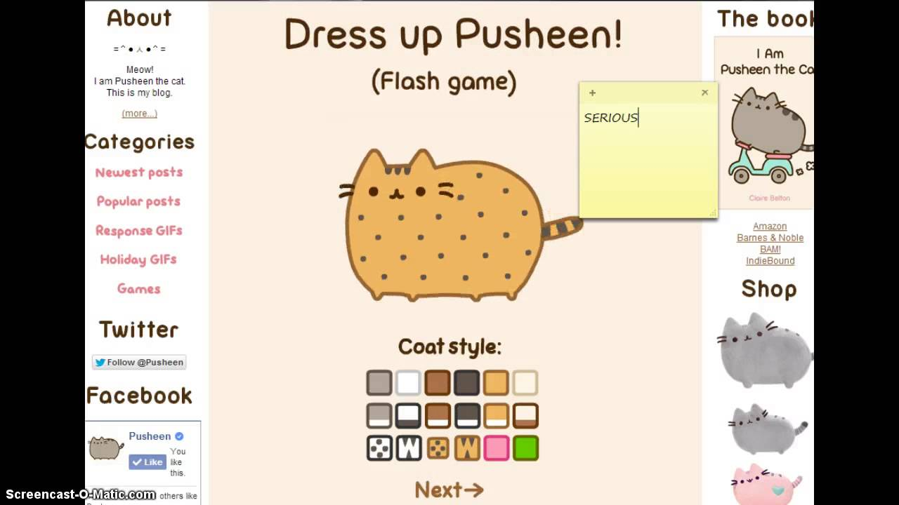 My First Time Playing Pusheen The Cat Youtube
