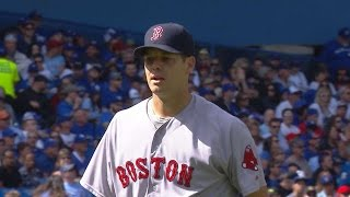 BOS@TOR: Hill strikes out 10 over seven frames