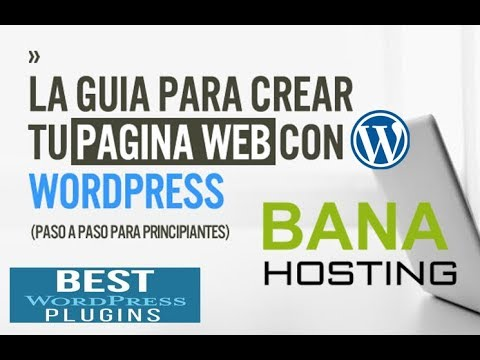 Wordpress Tutorial Español 2018 (Tu Hosting + Dominio) + Theme + ...