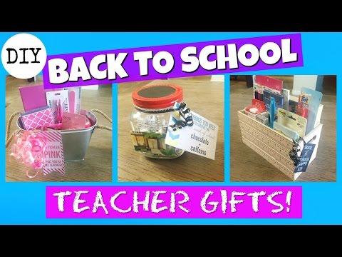 BACK TO SCHOOL TEACHER GIFTS!