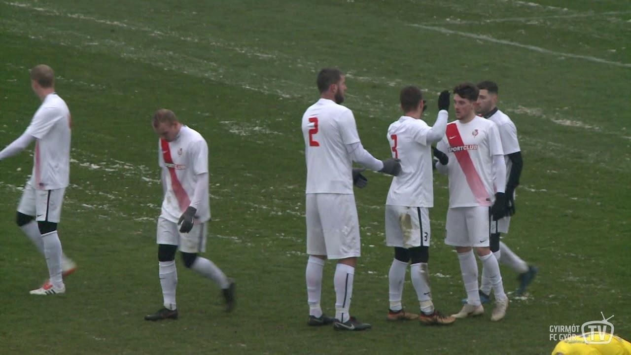 Gyirmót FC Győr - Sered 0-1 (0-0)