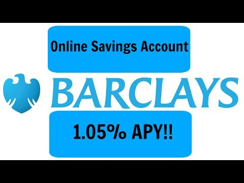 Barclays Online Savings Review