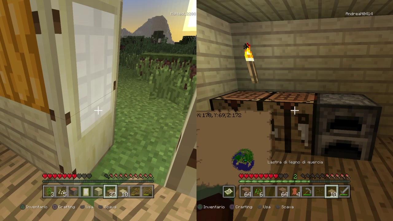 Lastra Di Legno Minecraft : Ep minecraft youtube