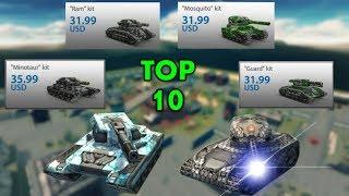 Tanki Online - TOP 10 M2 Kits Of 2018 - MrThunder