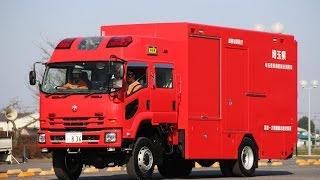 加須市消防出初式 車両分列行進 2016