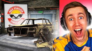 HOW TO FIX A CĄR (Gas Station Simulator)