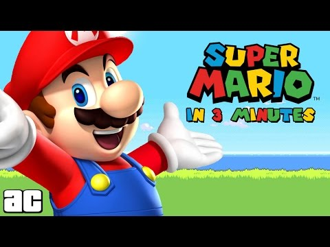 Mario in 3 minutes (Video Game Animation)