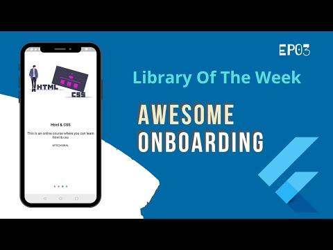 Awesome Onboarding Experience   Flutter Library of the Week   EP-03