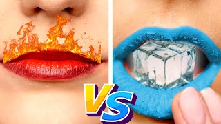 Hot vs Cold Teacher! School HOT vs COLD Challenge || Prank Ideas & Funny Situations by Crafty Panda