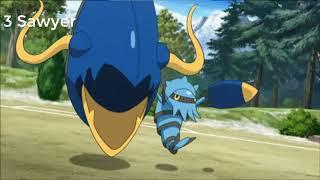 4 đối thủ mạnh mẽ nhất của Satoshi trong phần phim pokemon XYZ