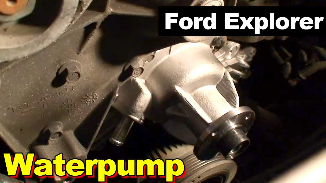 1995 Ford Explorer Waterpump Youtube 1997 Engine Diagram