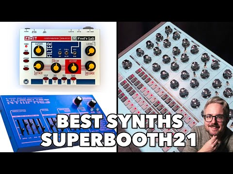 BEST OF SUPERBOOTH21: Dreadbox Nymphes, Erica Synths PERKONS, Waldorf M, RK008 & much more!