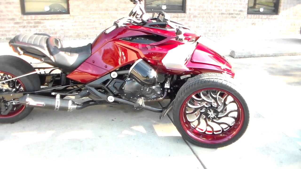 can am spyder f3 built by all things chrome with fat tire kit 615 431 2294 youtube. Black Bedroom Furniture Sets. Home Design Ideas