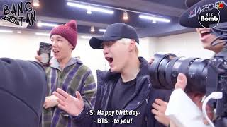 [ENG] 180119 [BANGTAN BOMB] Jin's Surprise Birthday Party - BTS (방탄소년단)