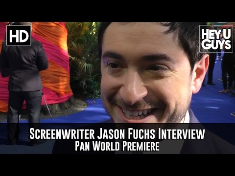 Writer Jason Fuchs - Interview - Pan World Premiere