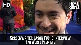 Writer Jason Fuchs - Interview - Pan World Premiere