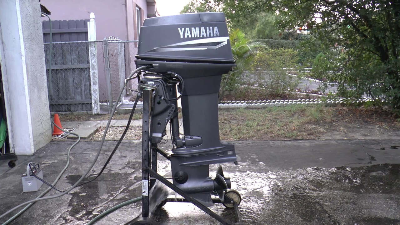 1998 Yamaha 40hp 2 Stroke Outboard Motor