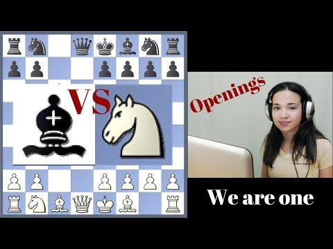 Free Short Chess Lessons 1 - Knight or Bishop in Opening