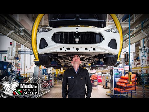We Visited The Factory Where The Maserati Models Are Born | Made In Motor Valley
