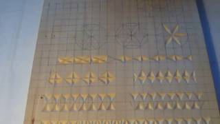 Геометрическая резьба по дереву. Урок 4 (geometric wood carving)
