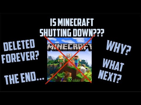 is-minecraft-shutting-down-at-the-end-of-2020?