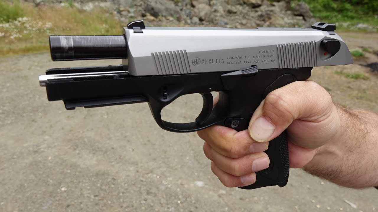 Beretta PX4 Storm 9mm with SSGuideRod