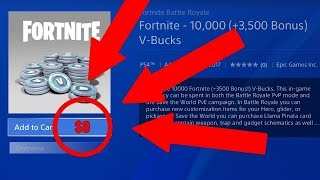 🔥😱FORTNITE UNENDLICH V-BUCKS GLITCH!🔥😱 UNLIMITED V BUCKS FORTNITE BATTLE ROYALE (GERMAN VERSION)