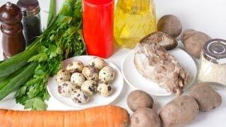 Рецепт салата из языка. Салаты на праздники и новый год