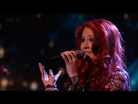 Janet Devlin says 'Kiss Me' - The X Factor 2011 Live Show 7 - itv.com/xfactor