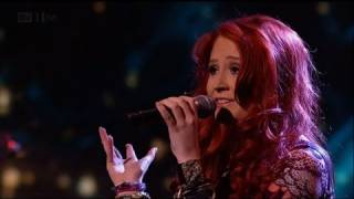Janet Devlin says 'Kiss Me' - The X Factor 2011 Live Show 7 - itv.com/xfactor