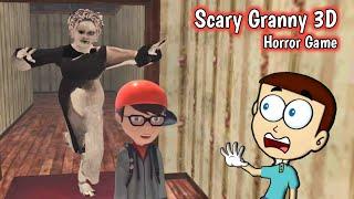Scary Granny 3D Horror Game   Shiva and Kanzo Gameplay screenshot 2