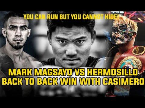 MARK MAGSAYO VS Rigoberto Hermosillo FIGHT is ON
