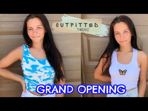 GRAND OPENING DAY OF MY ONLINE BUSINESS WAS A SUCCESS! EMMA AND ELLIE