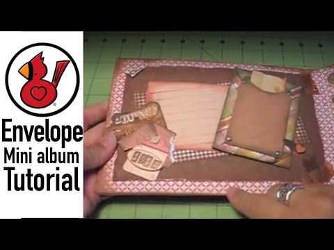 Video #31 Envelope mini album tutorialYouTube