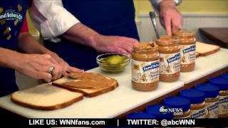 Unique Sandwich Combines Pickles & Peanut Butter