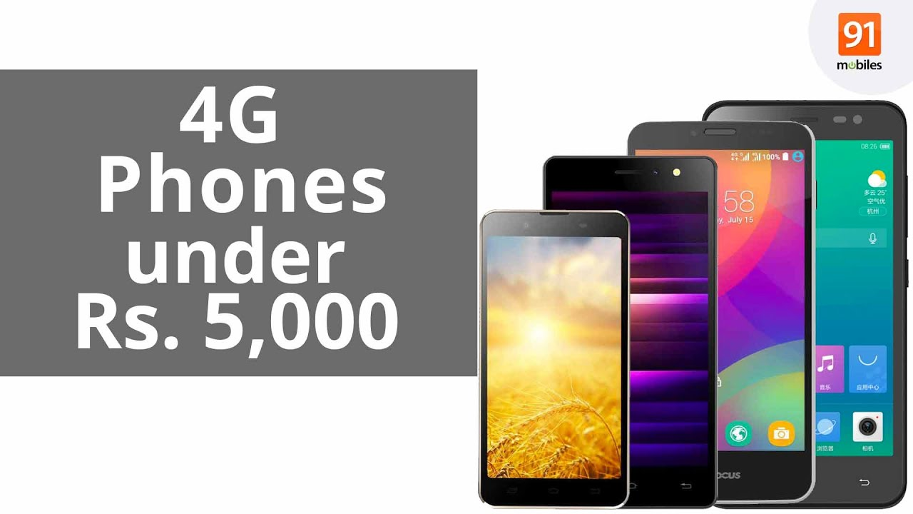 Best 4g Mobile Phones Under 5 000 Rs India May 2016