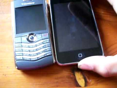 blackberry pearl 8120 unboxing