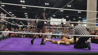 LACC Women of Wrestling Match with Commentary