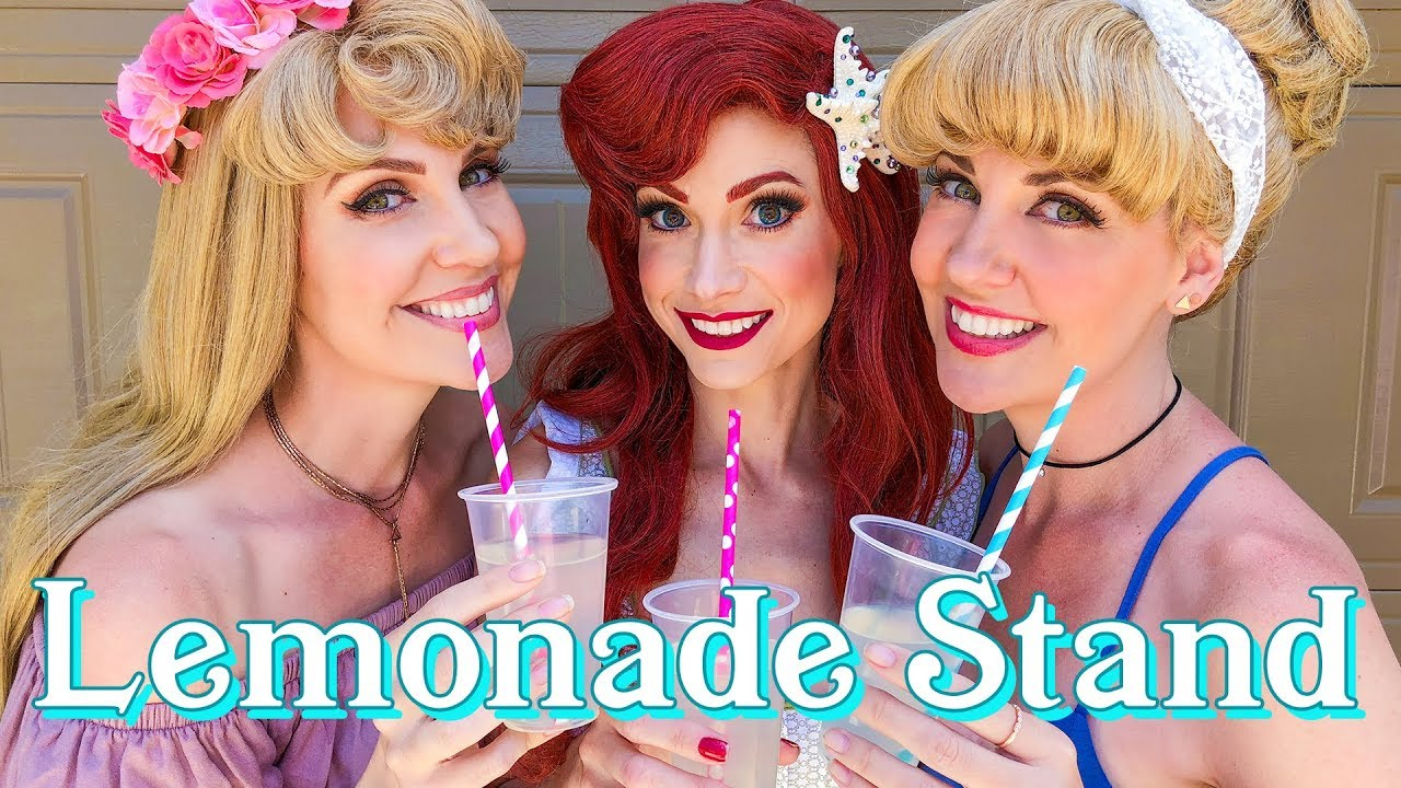 Disney Princess Adventure - Lemonade Stand!