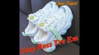 Giày Boss Trẻ Em từ 1 - 8 tuổi - Giày Kiểu Thời Trang Dễ Thương - Giày Nhập Chất Lượng cao Bền Đẹp
