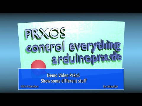 Prxos // Arduino // Show some different stuff // Dec. 2017 (ARDUINO)