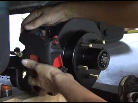 How To Install Disc Brakes On A Travel Trailer