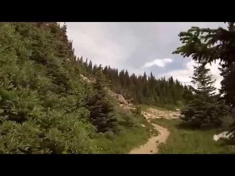 Hiking, Indian Peaks Wilderness, Colorado. Filmed by Richard Hicks GoPro
