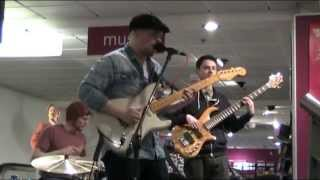 Mitch Laddie Band live at HMV Newcastle