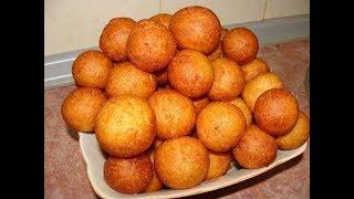 Вкусные Домашние Пончики! Рецепт приготовления!:)
